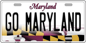 Go Maryland Wholesale Novelty Metal License Plate Tag