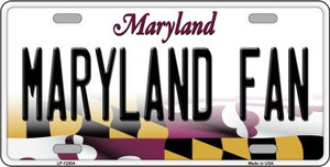 Maryland Fan Wholesale Novelty Metal License Plate Tag