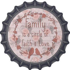 Circle Of Faith and Love Wholesale Novelty Metal Bottle Cap