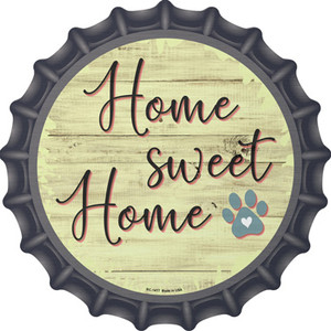 Paw Home Sweet Home Wholesale Novelty Metal Bottle Cap