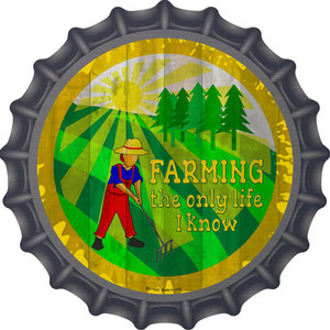 Farming All I Know Wholesale Novelty Metal Bottle Cap
