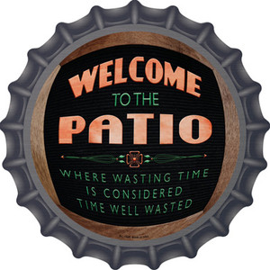 Welcome To The Patio Wholesale Novelty Metal Bottle Cap