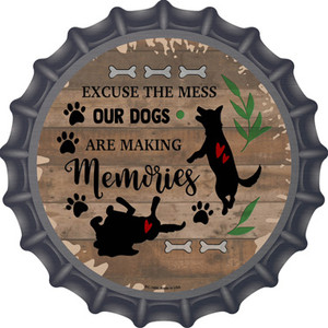 Our Dogs Are Making Memories Wholesale Novelty Metal Bottle Cap
