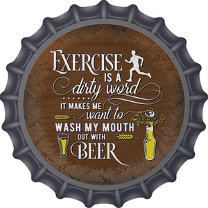 Wash My Mouth With Beer Wholesale Novelty Metal Bottle Cap