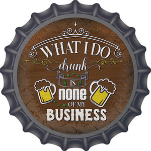 None Of My Business Wholesale Novelty Metal Bottle Cap