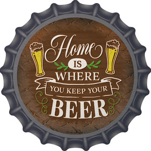 Where You Keep Your Beer Wholesale Novelty Metal Bottle Cap