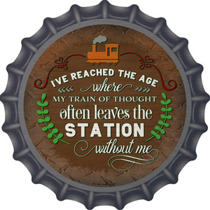 Leaves The Station Without Me Wholesale Novelty Metal Bottle Cap