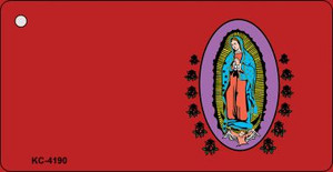 Virgin Mary Red OffSet Wholesale Novelty Key Chain
