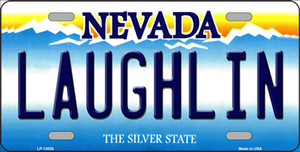 Laughlin Nevada Wholesale Novelty Metal License Plate Tag
