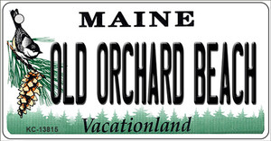 Old Orchard Beach Maine Wholesale Novelty Metal Key Chain