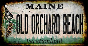 Old Orchard Beach Maine Rusty Wholesale Novelty Metal Key Chain