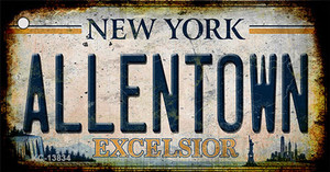Allentown Excelsior New York Rusty Wholesale Novelty Metal Key Chain