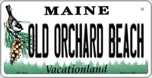 Old Orchard Beach Maine Wholesale Novelty Metal Bicycle Plate