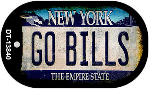 Go Bills New York Rusty Wholesale Novelty Metal Dog Tag Necklace