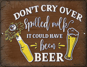 It Could Have Been Beer Wholesale Novelty Mini Metal Parking Sign
