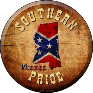 Southern Pride Mississippi Wholesale Novelty Metal Circular Sign