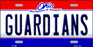 Guardians Ohio Aviation Wholesale Novelty Metal License Plate Tag