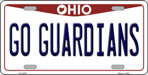 Go Guardians Ohio Wholesale Novelty Metal License Plate Tag