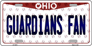 Guardians Fan Ohio Overlay Wholesale Novelty Metal License Plate Tag