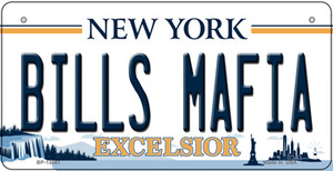 Bills Mafia NY Excelsior Wholesale Novelty Metal Bicycle Plate