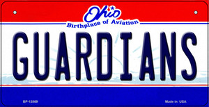 Guardians Ohio Aviation Wholesale Novelty Metal Bicycle Plate