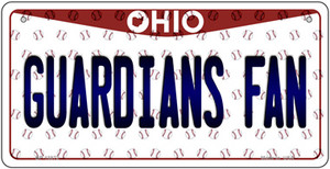 Guardians Fan Ohio Overlay Wholesale Novelty Metal Bicycle Plate