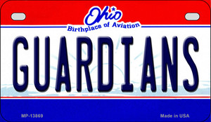 Guardians Ohio Aviation Wholesale Novelty Metal Motorcycle Plate