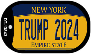Trump 2024 New York Wholesale Novelty Metal Dog Tag Necklace