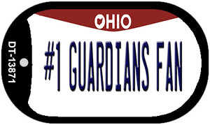 Number 1 Guardians Fan Ohio Wholesale Novelty Metal Dog Tag Necklace
