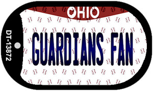 Guardians Fan Ohio Overlay Wholesale Novelty Metal Dog Tag Necklace
