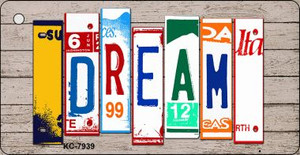 Dream Wood License Plate Art Wholesale Novelty Key Chain