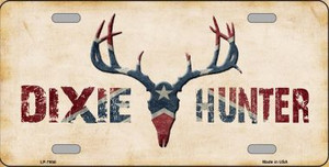 Dixie Hunter Novelty Wholesale Metal License Plate