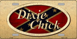Dixie Chick Novelty Wholesale Metal License Plate