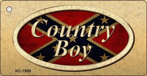 Country Boy Wholesale Novelty Key Chain