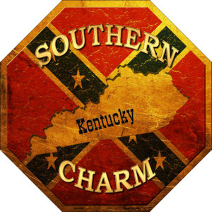 Southern Charm Kentucky Wholesale Metal Novelty Stop Sign