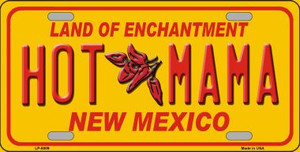 New Mexico Hot Mama Novelty Wholesale Metal License Plate LP-8009