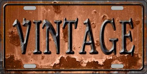 Vintage Rusty Sign Wholesale Novelty Metal License Plate