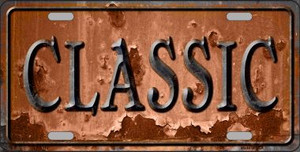 Classic Wholesale Novelty Metal License Plate