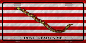 Dont Tread On Me Culpeper Novelty Wholesale Metal License Plate