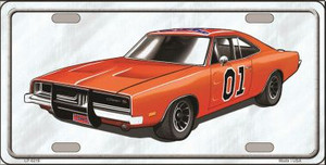 General Lee Novelty Wholesale Metal License Plate