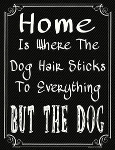 Home Where The Dog Wholesale Metal Novelty Parking Sign