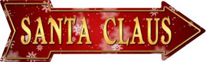 Santa Claus Wholesale Novelty Metal Arrow Sign