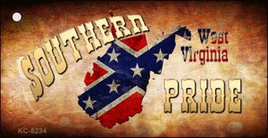 Southern Pride West Virginia Wholesale Novelty Key Chain