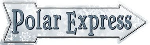 Polar Express Wholesale Novelty Metal Arrow Sign