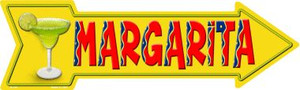 Margarita Wholesale Novelty Metal Arrow Sign