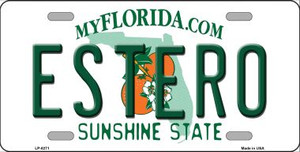 Estero Sunshine State Wholesale Novelty Metal License Plate