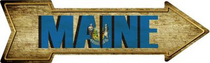 Maine Wholesale Novelty Metal Arrow Sign