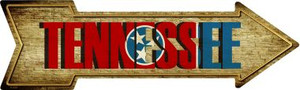 Tennessee Wholesale Novelty Metal Arrow Sign