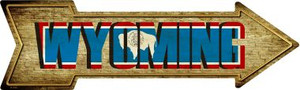 Wyoming Wholesale Novelty Metal Arrow Sign