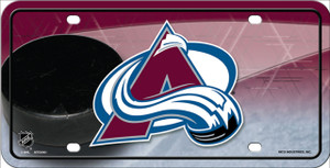 Colorado Avalanche Wholesale Metal Novelty License Plate